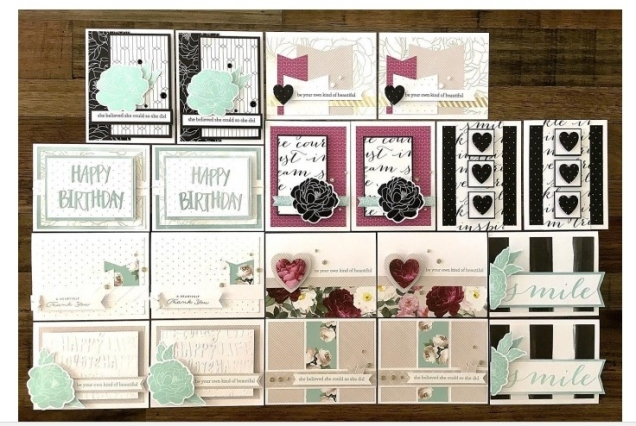live beautifully cards